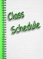 Class Schedule and Information - Day and Evening Classes at the Myrtle Beach Rec Center