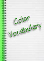 Color and Vocabulary